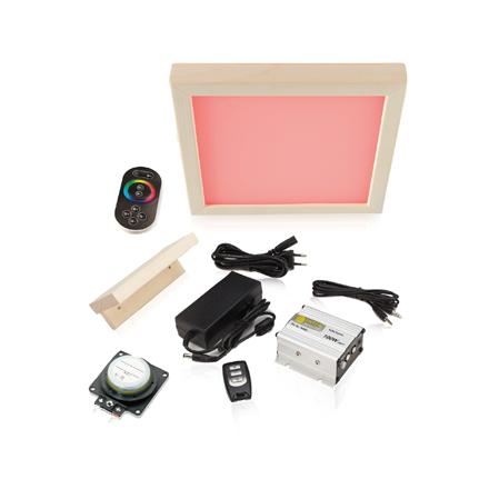 Mehrausstattungs-Set, LED-Farblicht, Audiosystem mit Bluetooth und Lautsprecher
