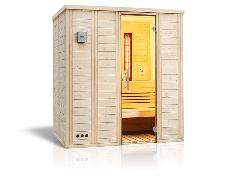 Vitalis Complete Sauna von SAUNA WERK hamburg